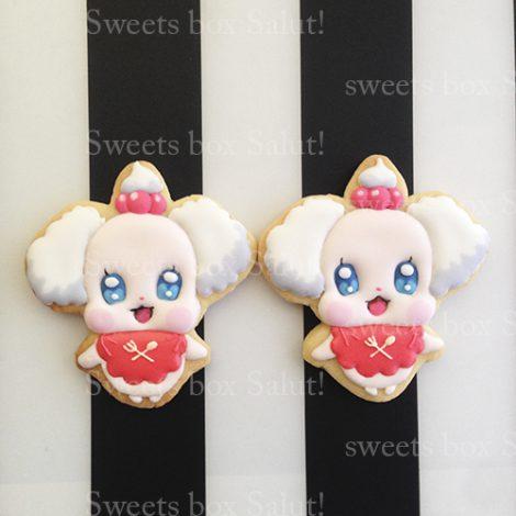 プリキュアのお誕生日用アイシングクッキー3