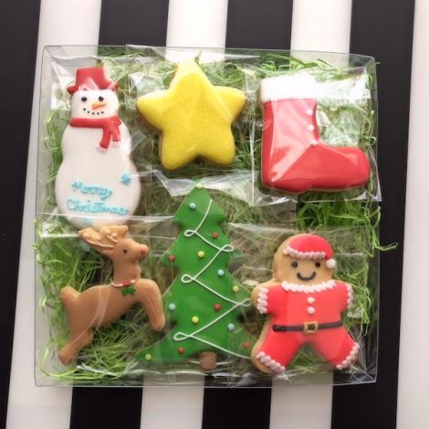クリスマスアイシングクッキーベーシック