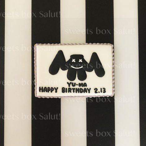 マシュメロのお誕生日用アイシングクッキー2