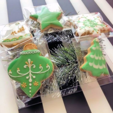 クリスマスなアイシングクッキーたち2