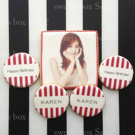 COOLな大人女子向けの誕生日アイシングクッキーセット通販5