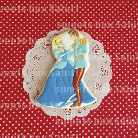 シンデレラの結婚式用アイシングクッキー1