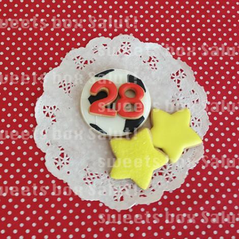 ジャイアンのお誕生日用アイシングクッキー3