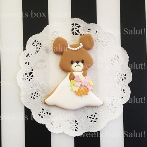 ジャッキーの結婚式用アイシングクッキー