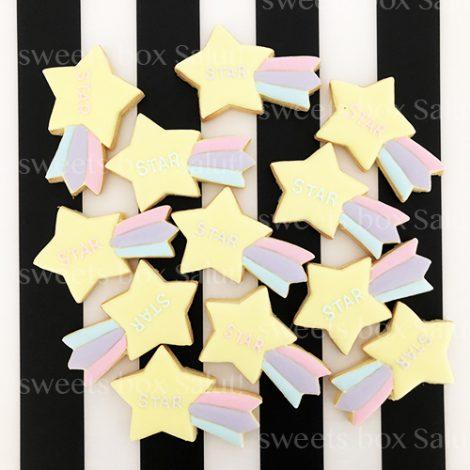 かわいい星型アイシングクッキー2