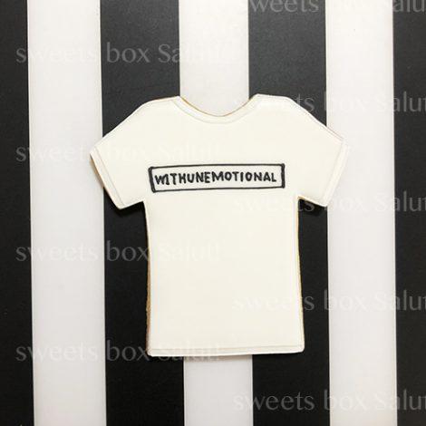 Tシャツデザインのアイシングクッキー1