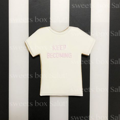 Tシャツデザインのアイシングクッキー2