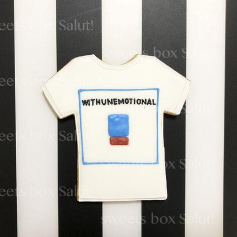 Tシャツデザインのアイシングクッキー3