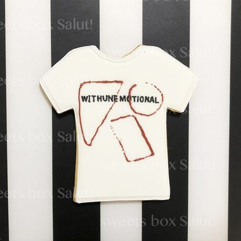 Tシャツデザインのアイシングクッキー4