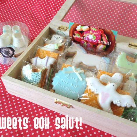 Baby boy誕生祝いのアイシングクッキー6