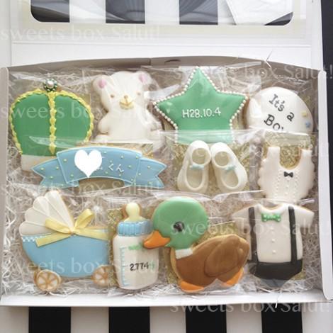出産祝い用アイシングクッキー5