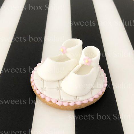 Baby girl 出産祝いのアイシングクッキー3