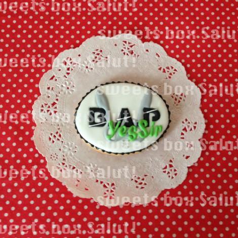 B.A.Pロゴとマトキのアイシングクッキー7