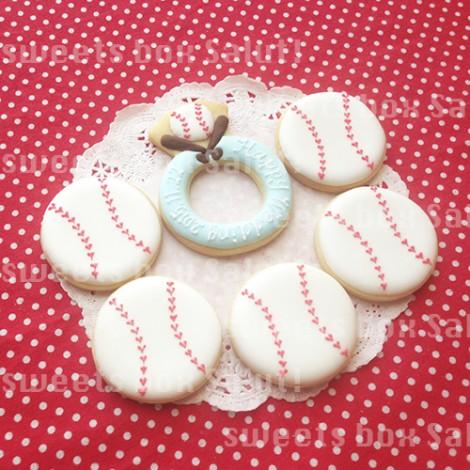 球場挙式のプチギフト用アイシングクッキー