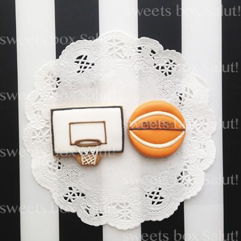 バスケ少年のお誕生日用アイシングクッキー2