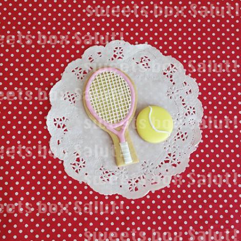 テニス&リヴァイのお誕生日用アイシングクッキー2