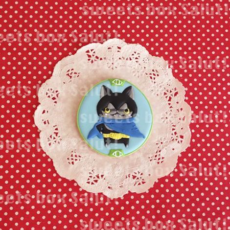 「妖怪ウォッチ」ダークニャンのお誕生日用アイシングクッキー1