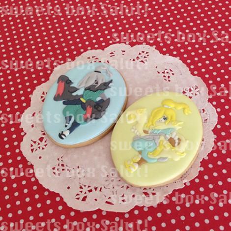 妖怪ウォッチキャラのお誕生日用アイシングクッキー2