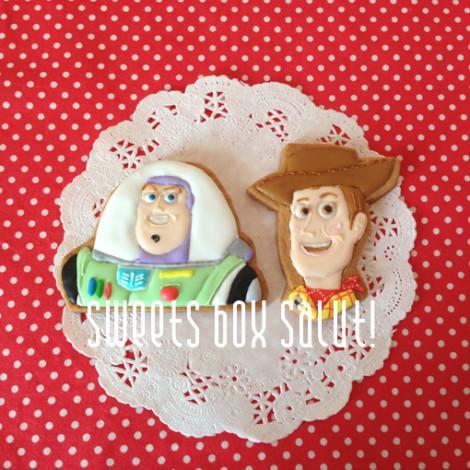 アンパンマン&トイ・ストーリー お誕生日用のアイシングクッキー3