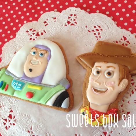 アンパンマン&トイ・ストーリー お誕生日用のアイシングクッキー4