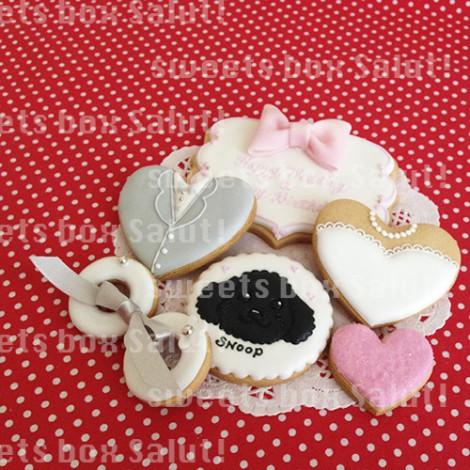 結婚&お誕生日のアイシングクッキー2