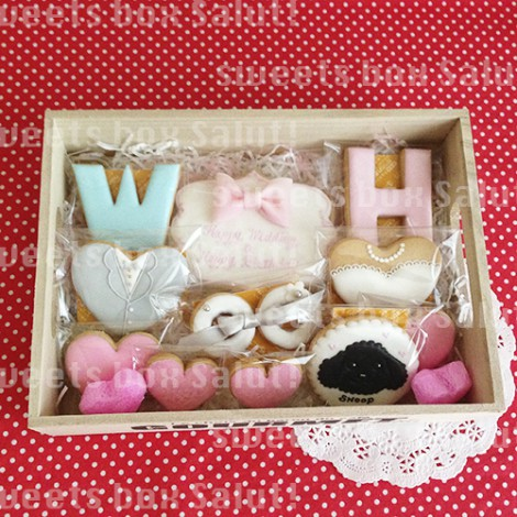 結婚&お誕生日のアイシングクッキー4