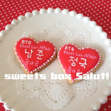 BTS(防弾少年団)のアイシングクッキー