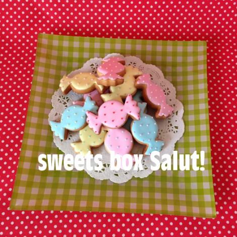 春色キャンディのアイシングクッキー
