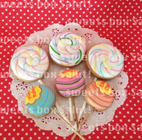 キャンディーのアイシングクッキー3