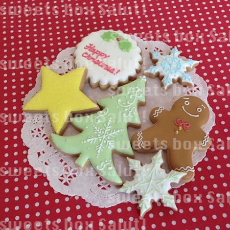 クリスマスのアイシングクッキー2