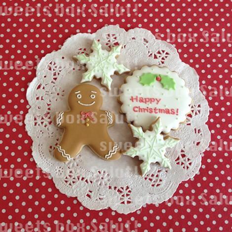 クリスマスのアイシングクッキー3