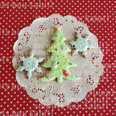 クリスマスのアイシングクッキー4