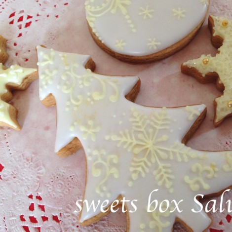 クリスマス オーナメントのアイシングクッキー5