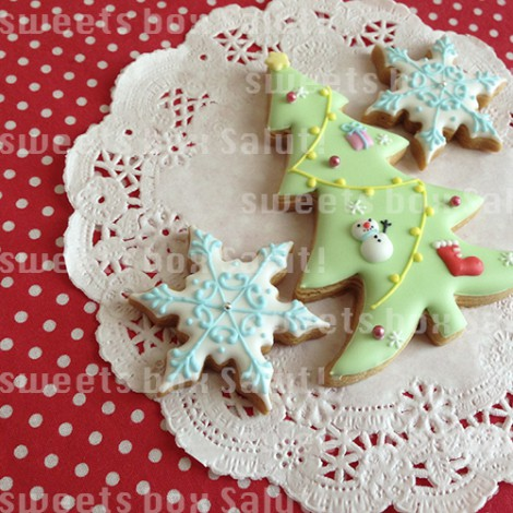 クリスマスのアイシングクッキー5