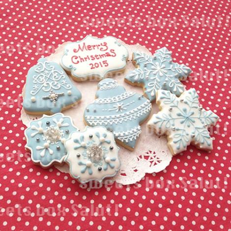 クリスマスのアイシングクッキー1