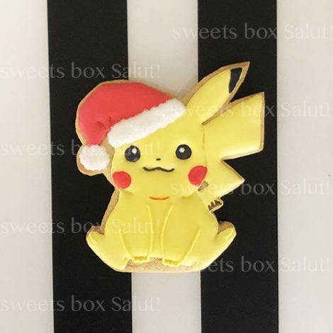 ポケモンキャラのクリスマスアイシングクッキー1