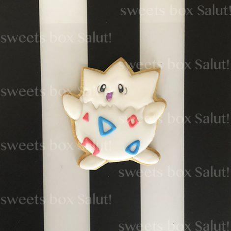 ポケモンキャラのクリスマスアイシングクッキー2