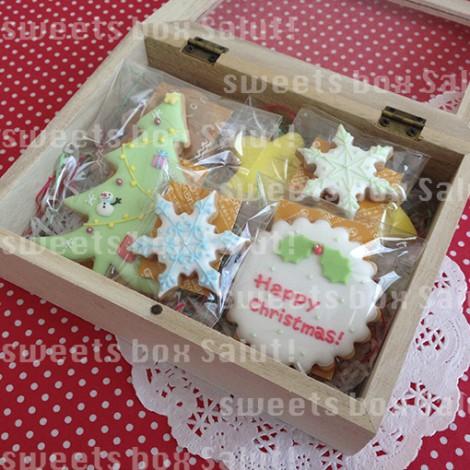 クリスマスのアイシングクッキー6