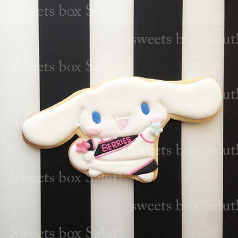 チアシナモンちゃんのアイシングクッキー