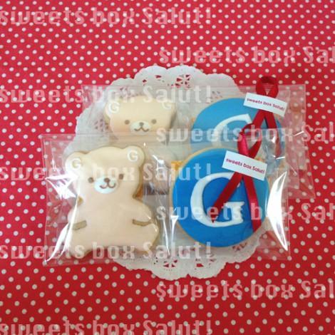 ロゴのアイシングクッキー【サイボウズさま】