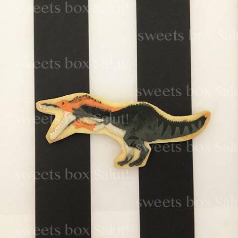 恐竜のお誕生日用アイシングクッキー2
