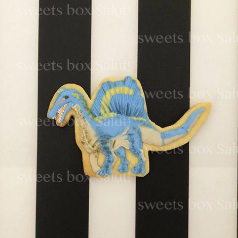 恐竜のお誕生日用アイシングクッキー3