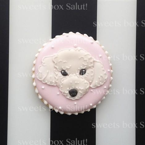 愛犬のアイシングクッキー
