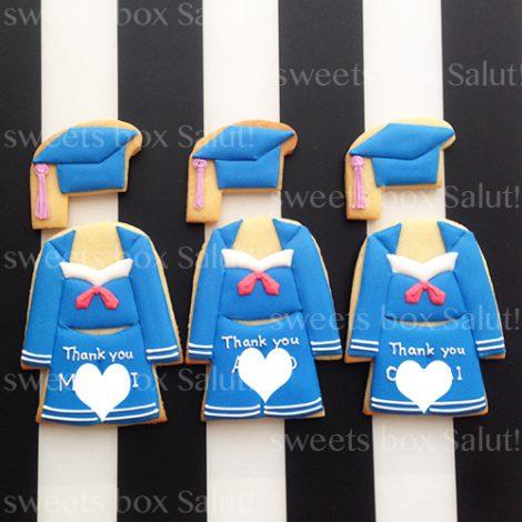 バレエ衣装モチーフのアイシングクッキー2