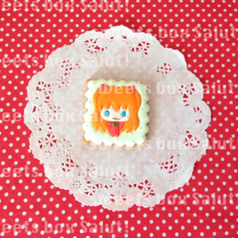 エヴァ MICRO MACRO(ミクロマクロ)」のアイシングクッキー