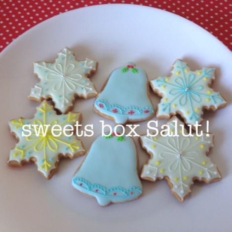 受験生のみなさまへクリスマスのアイシングクッキー2