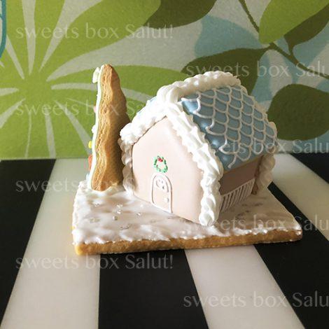 クリスマスアイシングクッキーヘクセンハウス1