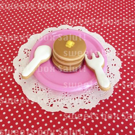 ホットケーキセットのアイシングクッキー1