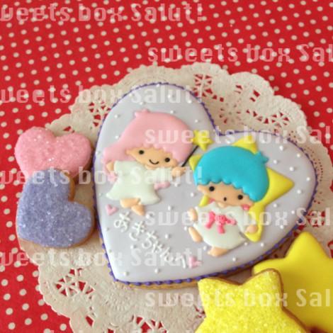 キキララのアイシングクッキー