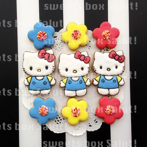 キティちゃんのアイシングクッキー1